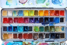 Watercolor Instruction & Inspiration  / by Ginny Hines