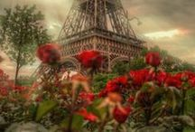 ~ Post Cards from Paris ╰⊰✿✿⊱╮ / by Belinda's Second Time ¨`*•.¸✿