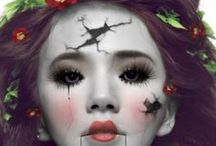 Hallowen Makeup + Nails / by orglamix natural beauty