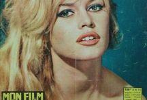 Brigitte Bardot Magazine Covers / Brigitte Bardot Magazine Covers / by E.Fella Aksu