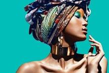 Multicolored African Fashion / by Carmen Virginia Grisolía