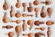 Spoons / A collection of different spoons: images, drawings, photos, crafts and ideas. I couldn't even think spoons can be so inspiring! Hope this collection will inspire you as well :) / by Julia Gunko
