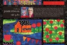 Fabric Artist-Jamie Fingal / by Havel's Sewing