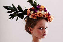 headdress / by wedding decor