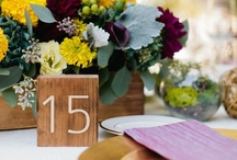 Table Number / by wedding decor