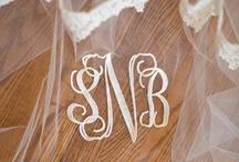 Monogram&initial / by wedding decor