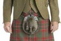 Scottish Kilts, clothes / by Ilona Terry