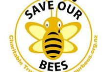 BEES / SAVE OUR BEES / by Susan Maze