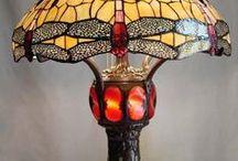 TIFFANY LAMPS / Louis Comfort Tiffany and Tiffany Studios New York / by Susan Maze