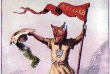=:> Fox in Art and Literature / Fuchs in Kunst und Literature / by Reineke Fux