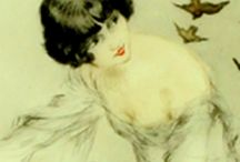 Louis Icart...Beautiful.. / Love Love all his work... / by Margie Frombach