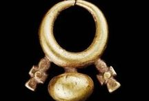 Ancient thru Medieval Jewelry / Ancient through Medieva-era Jewelry.  Egyptian, Roman, Greek, Byzantine, Germanic, Celtic, Other. From BCE through 1400 CE / by Ravin' Mayven