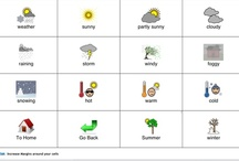 Weather & Seasonal AAC boards / Great boards for seasonal items and activities.  The only board we need is SPRING.  It would be great if a MyTalk user could build and donate a Spring board to the submissions library.  / by MyTalk AAC