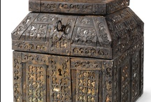 Art of the Box / Boxes, chests, trunks, caskets, and other lidded containers of holding / by Ravin' Mayven