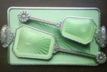 Art of Vanity / Compacts, Lipstick Holders, Vanity Sets, Mirrors.  Antique, Vintage, and Modern. / by Ravin' Mayven