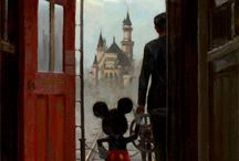 "Disney / ""It all started with a mouse.""                   -Walt Disney / by Mega Frost"