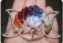 Tree of life pendants / Jewelry ideas  / by Lynn