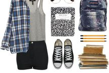 SchoolOutfits / by Anastasia M.