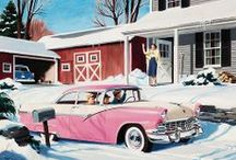 Classic Chevy and Ford Cars / by QualityCollectibles4u