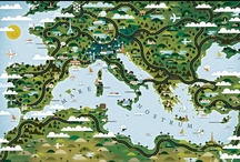 Maps and Illustrations - Europe / Mostly Central Europe and Eastern Mediterranean - UK, Italy, France, Iberia, Scandinavia  and Turkey have their own separate boards. / by Sara Drake