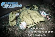 Nikwax Gear Rehab - 3 Step Program  / Nikwax Gear Rehab is a 3 step program to help revitalize dirty, tired,and under-performing gear. We help your gear get another chance at reaching its best performance, keeping you warm dry and comfortable, and your gear out of the landfill.  To learn more go to www.nikwaxna.com/gearrehab / by Nikwax