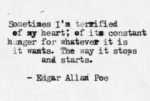 Edgar Allan Poe / by Melissa Erickson