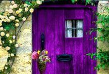 Knock knock! / Beautiful doors / by Mari