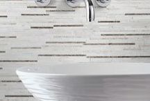 Avalon Modern Polished Marble Collection / The reflective surface of our Avalon Stone Collection features a finely polished marble that evokes impressions of classic to contemporary for floors and walls. The options for precision cut sizes and shapes as well as the superb creation of mosaic tile art abounds with this collection. Three-dimensional mouldings provide you with a rich finishing touch. This product is at optimal for coordinated floor, wall and countertop applications in both residential and commercial settings. / by Country Floors