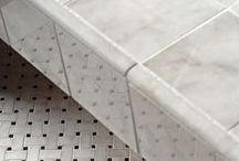 Avalon Polished Marble Collection / The reflective surface of our Avalon Polished Marble Collection features polished marble that evokes impressions of classic to contemporary for floors and walls. The options for precision cut sizes and shapes, as well as the superb creation of mosaic tile art, abounds with this collection. Three-dimensional mouldings provide you with a rich finishing touch. This product is at optimal for coordinated floor, wall and countertop applications in both residential and commercial settings. / by Country Floors