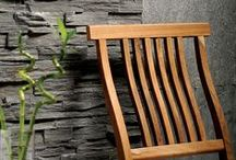 American Slate / The American Slate Collection from Country Floors captures the unique and organically simple colors of nature. This collection is an ideal choice for floors, walls and backsplashes. American Slate is a part of the fabric of nature and a design element to enhance your lifestyle by its selection. / by Country Floors