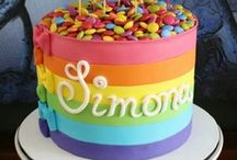 lovely: colorfull...rainbow / by All About Fondant (and others)