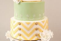 pattern: chevron / by All About Fondant (and others)