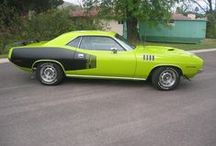 Plymouth Cuda / American Muscle / by Blues Man