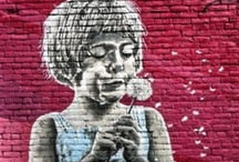 she lives on love street / street art / by mindy pajic