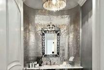 Plush Powder Rooms & Bathrooms / by Adrienne P.