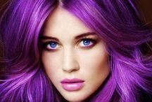 Purple Lavender Violet lilac Hair / Purple Lavender Violet lilac Hair; cabelo roxo / by K. Douglas Pings