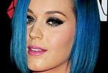 Blue Hair; cabello azul; blauen; Cheveux bleu / Blue Hair; cabello azul; blauen; Cheveux bleu / by K. Douglas Pings