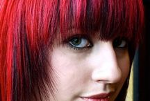 Red Coloured Hair; rojo rote / Red Coloured Hair; rojo rote / by K. Douglas Pings