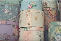 decoupage / mod podge / mod podge, beautiful tins and boxes / by vera j