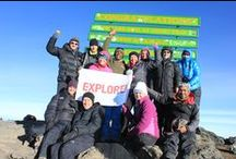 Kilimanjaro / The highest peak in Africa has long been a lure for fit and adventurous travellers. To reach its mighty summit gives you a real natural high. / by Explore