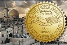 "CHRISTIANS UNITED FOR ISRAEL / ""PRAY FOR THE PEACE OF JERUSALEM: ""MAY THOSE WHO LOVE YOU BE SECURE.""   Psalm 122:6 ""FOR THE LORD WILL NOT REJECT HIS PEOPLE; HE WILL NEVER FORSAKE HIS INHERITANCE.""   Psalm 94:14 / by Olga Jarman"