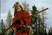 Mountain Men, Buckskinners, Long Hunters, Woods Runners & Fur Trade Trapper Rendezvous / by Ken Urie