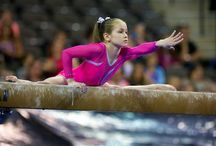 """GYMNASTICS / """"A winner is just a loser who tried one more time."""" / by Delaney Olexa"""