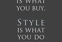 My Style / My style is geared towards 1940's: hair, clothes, shoes, makeup, accessories...Women really looked like women back then.  / by T B