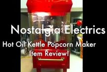 See it Here: Videos! / See is believing, but you'll see want to try out all of these Nostalgia Electrics products yourself...just to be sure ;)  / by Nostalgia Electrics