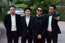 Fall Out Boy / Four wonderfully silly men who make music that helps me through a lot. ❤️ / by caitlin