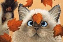 Drawn kitties / by Shirley DeChenne