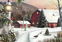 Winter art by various artists / by Shirley DeChenne
