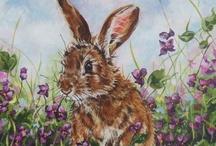 Drawn bunnies / by Shirley DeChenne