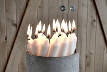 candles / by Suzanne Hegstrom